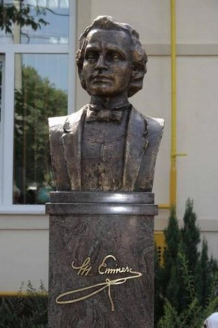 Bust Eminescu